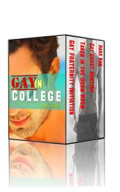 Gay in College Erotica Collection (first time m/m bundle)