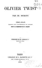 Olivier Twist: roman anglais