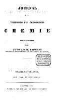Journal f  r technische und   konomische Chemie PDF