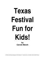 Texas Festival Fun for Kids  PDF