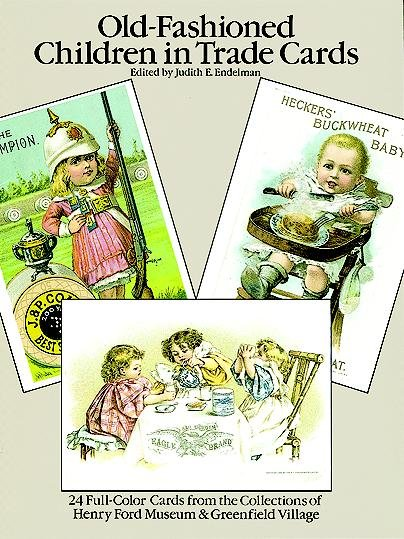 Old Fashioned Children Trade Cards PDF
