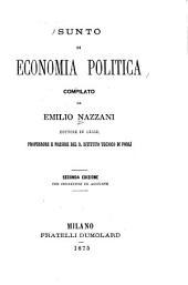 Sunto di economia politica