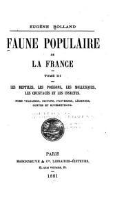 Faune populaire de la France ...