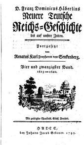 1615 - 1620: Volume 24