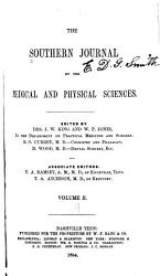 The Southern Journal Of The Medical And Physical Sciences Book PDF