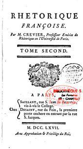 Rhétorique françoise: Volume1