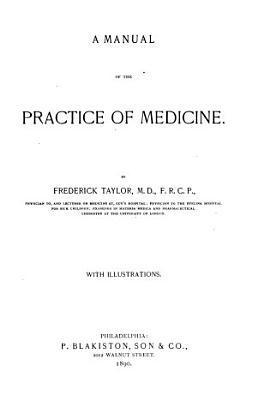 A Manual of the Practice of Medicine PDF