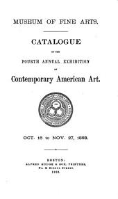 Catalogue of the ... Annual Exhibition of Contemporary American Art ...