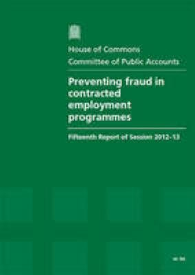 Preventing Fraud and Improper Practices in Contracted Employment Programmes PDF
