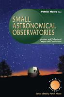 Small Astronomical Observatories PDF