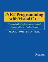 NET Programming with Visual C   PDF