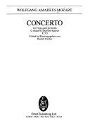 Flute concerto D major