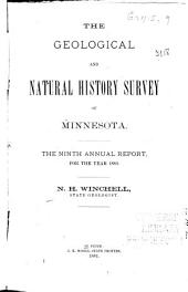 Annual Report - Geological and Natural History Survey of Minnesota: Volume 9
