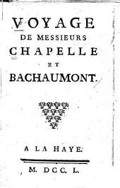 Voyage de messieurs Chapelle et Bachaumont