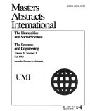 Masters Abstracts International PDF