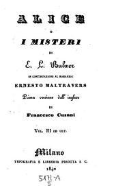 Alico i misteri. Versione dall' inglese di Francesco Cusani: 5,10-12