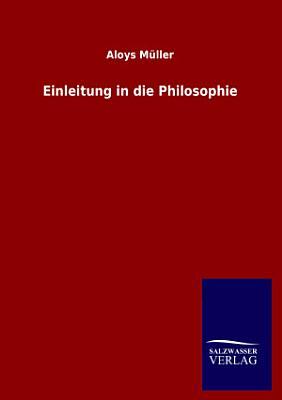 Einleitung in Die Philosophie PDF