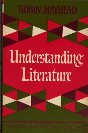 Understanding Literature PDF