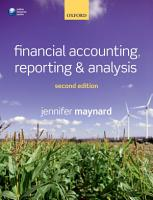 Financial Accounting  Reporting  and Analysis PDF