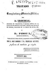 Tratado de terapéutica y materia médica: Volumen 3