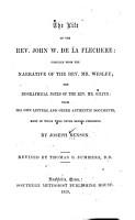 The Life of the Rev  John W  de la Flechere PDF