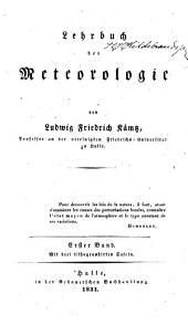 Lehrbuch Der Meteorologie: Band 3