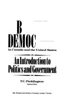 Liberal Democracy in Canada and the United States PDF