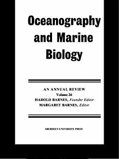 Oceanography and Marine Biology  An Annual Review Book