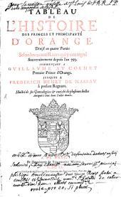 Tableau de l'histoire des princes et principauté d'Orange