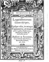 Mirifici logarithmorum canonis descriptio