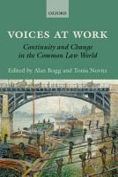 Voices at Work PDF