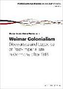 Weimar Colonialism PDF