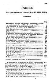 Compendio de Matemáticas puras y mistas [sic]: Volumen 1