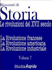 Le rivoluzioni del XVIII secolo