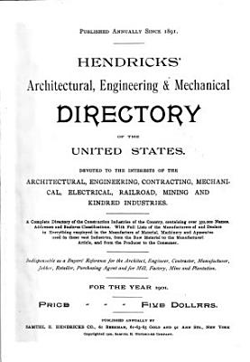 Hendricks  Commercial Register of the United States for Buyers and Sellers PDF