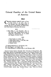 Colonial Families Of The United States Of America Book PDF
