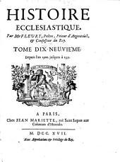 Historique ecclésiastique: Volume19