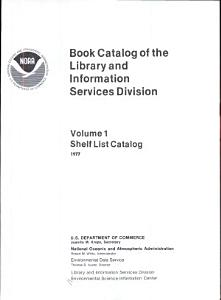 Book Catalog of the Library and Information Services Division PDF