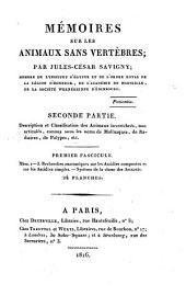 Description et Classification des Animaux invertebres, non articules, connus sous les noma de Mollusques, de Radiaires, de Polypes, etc: 2