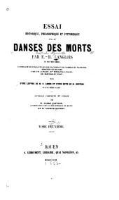 Essai...sur les danses des morts: Volume2