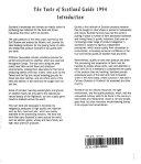 Taste of Scotland Guide 1994