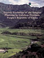 Triassic Evolution of the Yangtze Platform in Guizhou Province  People s Republic of China PDF