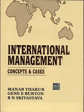 International Management  Concepts and Cases PDF