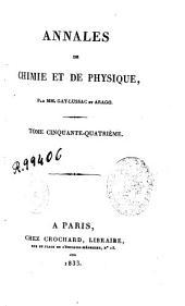 Annales de chimie et de physique: Volume54