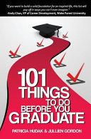 101 Things to Do Before You Graduate