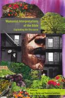 Womanist Interpretations of the Bible PDF