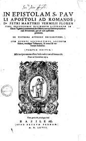 In epistolam S. Pauli apostoli ad Romanos ... commentarii doctissimi0