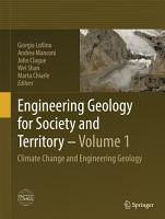 Engineering Geology for Society and Territory   Volume 1 PDF