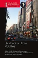 Handbook of Urban Mobilities PDF