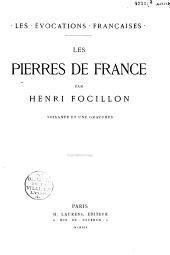 Les pierres de France